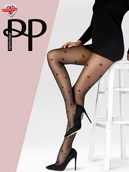 pretty-polly-pretty-polly-tulle-star-tights-blacknbsp