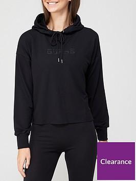 guess-logo-hoodie-black