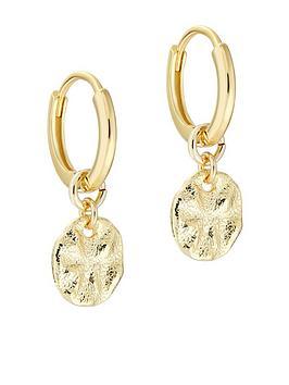 ted-baker-marrie-moonrock-huggie-earring-gold