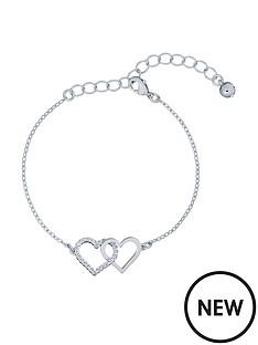 ted-baker-larsaenbspcrystal-linked-hearts-bracelet-silver