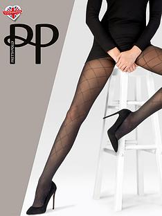 pretty-polly-sparkle-diamond-tights-blacksilver