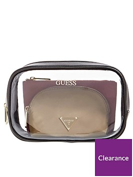 guess-three-in-one-nylon-pouch-set-multicolour