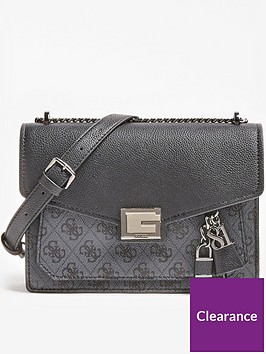 guess-valy-signature-print-charm-detail-convertible-cross-body-bag-black