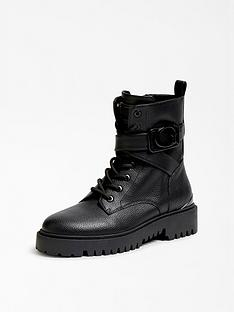 guess-orana-logo-buckle-biker-boots-black
