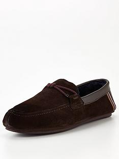 ted-baker-seffel-suede-moccasin-slippers-dark-brown
