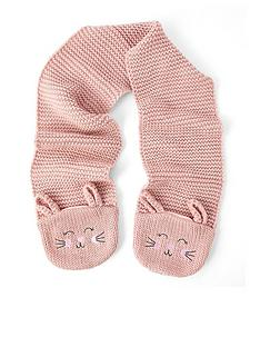 accessorize-girls-bunny-scarf-pink