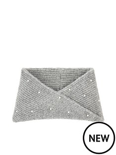 accessorize-girls-pearl-snood-grey