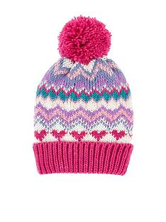 accessorize-girls-bright-fairisle-beanie-hat-multi
