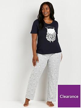 evans-dreaming-of-ewe-pyjama-set-navynbsp