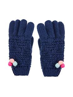 accessorize-girls-pom-gloves-multi