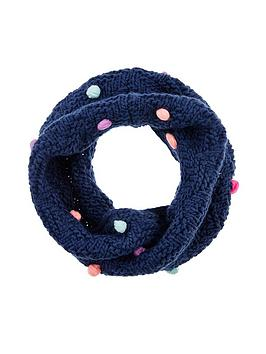 accessorize-girls-pom-pomnbspsnood-multi