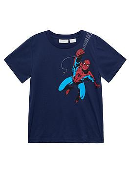 mango-boys-spiderman-short-sleeve-tshirt-navy
