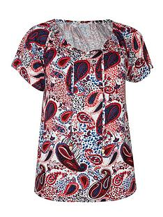 evans-paisley-print-gypsy-top-ivory