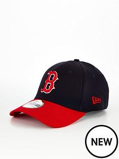 new-era-boston-red-sox-39thirty-cap-blackred