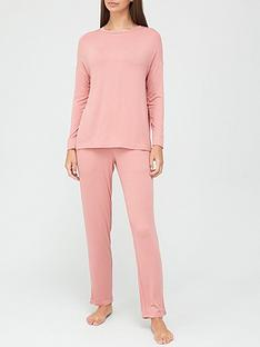 v-by-very-value-long-sleeve-t-shirt-amp-trouser-lounge-pyjamasnbsp--pink