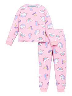 chelsea-peers-girls-recycled-unicorn-long-sleeve-pyjamas-pink