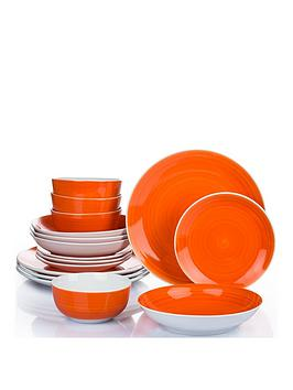 waterside-16-piece-orange-flame-spin-wash-dinner-set