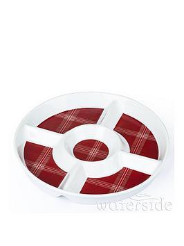 waterside-set-of-2-highland-tartan-round-chip-dip