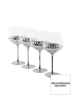 waterside-platinumnbspart-deco-wine-glasses-ndash-set-of-4