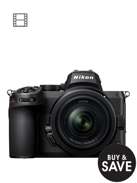 nikon-z-5-camera-nikkor-z-24-50mm-ftz-adapter-kit