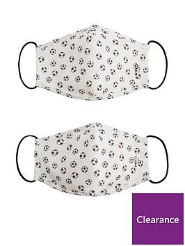 mango-boys-football-print-2-pack-face-masks-white