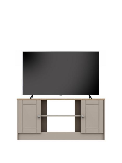 alderleynbspready-assembled-cream-corner-tv-unit-rustic-oaktaupenbsp--fits-up-to-48-inch