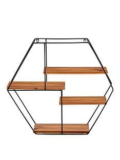 hexagon-wall-planter