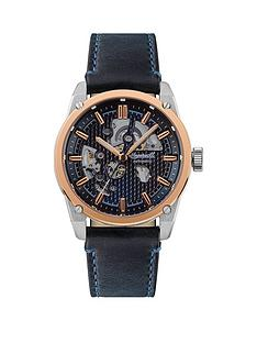 ingersoll-ingersoll-the-carroll-silver-and-rose-gold-detail-skeleton-automatic-dial-black-leather-strap-watch