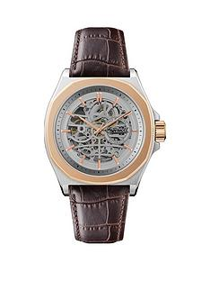 ingersoll-ingersoll-the-orville-silver-and-rose-gold-detail-skeleton-automatic-dial-brown-leather-strap-watch