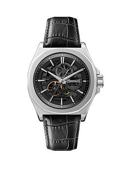 ingersoll-ingersoll-the-orville-black-and-silver-detail-skeleton-automatic-dial-black-leather-strap-watch