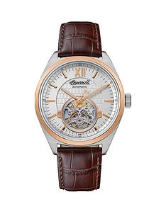 ingersoll-ingersoll-the-shelby-silver-and-rose-gold-skeleton-eye-automatic-dial-brown-leather-strap-watch