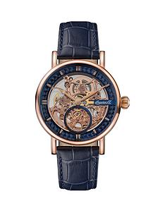 ingersoll-ingersoll-the-herald-rose-gold-and-black-detail-skeleton-automatic-dial-black-leather-strap-watch
