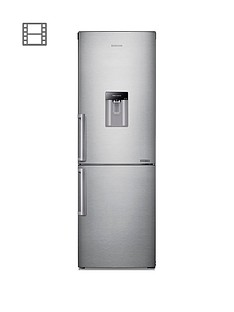samsung-rb29fwjndsaeu-60cm-wide-frost-free-fridge-freezer-with-digital-inverter-technology-and--silver