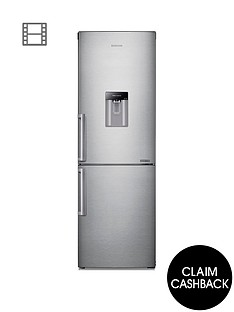 samsung-rb29fwjndsaeu-60cm-wide-frost-free-fridge-freezer-with-digital-inverter-technology-andnbsp--silver