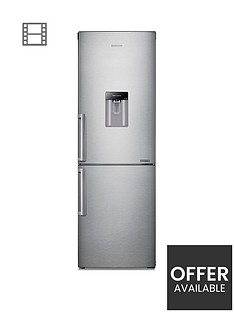 samsung-rb29fwjndsaeu-60cm-wide-frost-free-fridge-freezer-with-digital-inverter-technology-andnbsp--silver