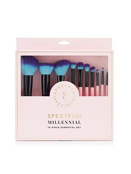 spectrum-specrtrum-essential-pink-10-piece-brush-set