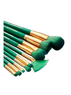 spectrum-10-piece-malachite-brush-set