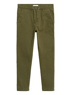 mango-boys-elasticated-waist-trousers-khaki