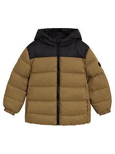 mango-boys-hooded-padded-coat-brown