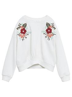 mango-girls-flower-embroidered-sweat-white