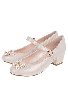 monsoon-girls-venita-pearl-butterfly-shoe-pink