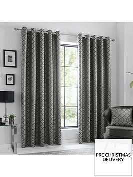 curtina-oriental-squares-eyelet-curtains-66x72