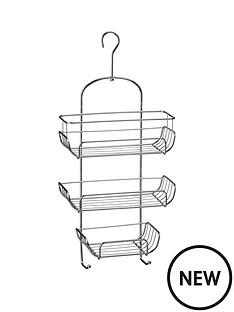 premier-housewares-3-tier-chrome-shower-caddy