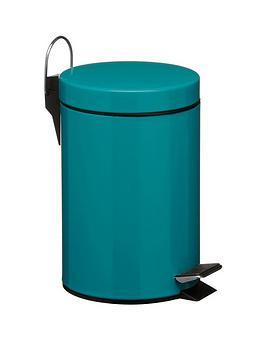 premier-housewares-turquoise-3-litre-pedal-bin