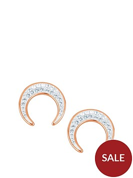 evoke-rose-gold-plated-silver-clear-swarovski-crystals-crescent-moon-stud-earrings