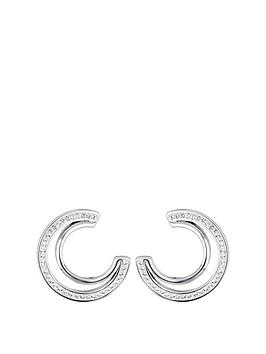 evoke-rhodium-plated-sterling-silver-clear-swarovski-crystals-double-crescent-stud-earrings