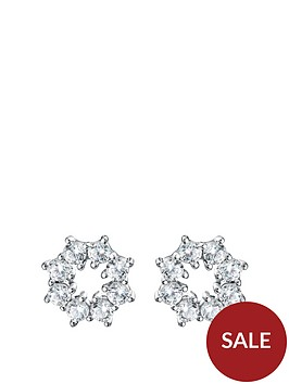 the-love-silver-collection-rhodium-plated-sterling-silver-cubic-zirconia-snowflake-stud-earrings