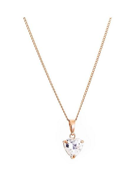 love-gold-9ct-rose-gold-cubic-zirconia-6mm-heart-pendant-necklace