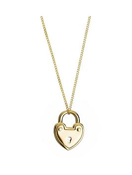 love-gold-9ct-yellow-gold-padlock-pendant-necklace