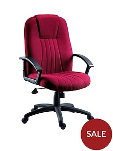 teknik-office-preston-fabric-office-chair-red
